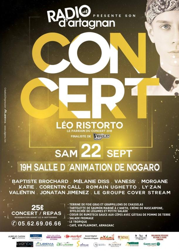 Concert Radio D'Artagnan 2018