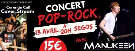 Concert à Ségos avec les nouveaux talents de RDA le 13/04