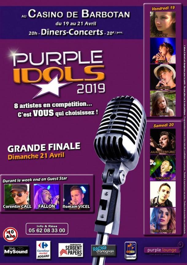 Radio d'Artagnan et les Purple Idols pour Pâques 2019 !