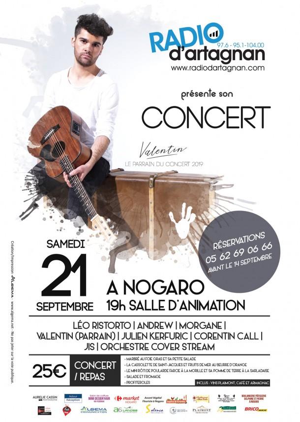 Concert Radio d'Artagnan 2019 !